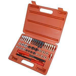 42pc Re-Thread Tool Kit Set UNC/UNF & Metric,Taps,Dies and Thread Files (CT1952)