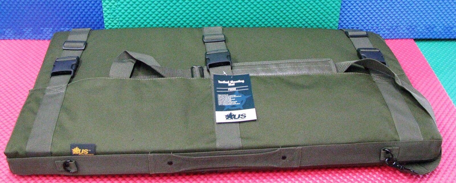 US PeaceKeeper Tactical Shooting Mat OD Green Water Resistant P20300