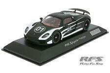 1:43 Porsche 918 Spyder Prototyp - matt schwarz - Spark WAP0201050D