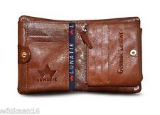 Lunatik Genuine Leather Mens Wallet High Export Quality