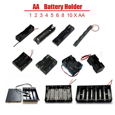 Battery Holder Mount PCB Of Batteries 1 No Battery Sizes Accepted 1//2AA Battery Holder 1X 1//2 AA