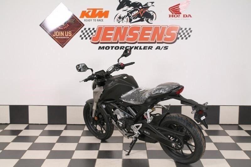 Honda, CB 125 R, ccm 125