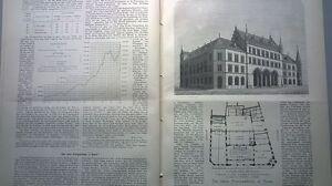 1882 14 Heidelberg Château Partie 4 Bâle Post Londres Port-afficher Le Titre D'origine