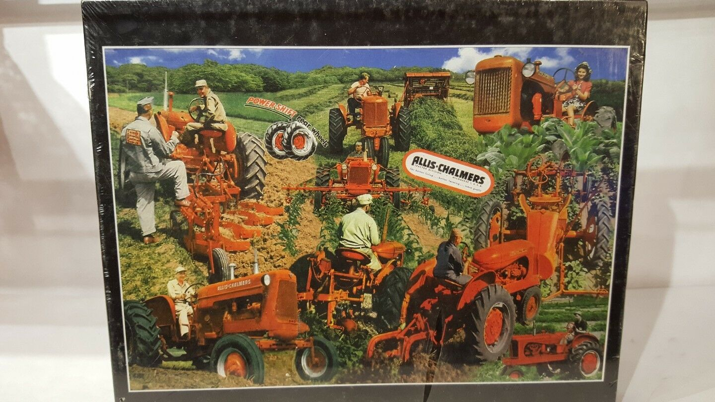 Allis Chalmers Gleaner Gleaner Gleaner Tractor Puzzle a8510d