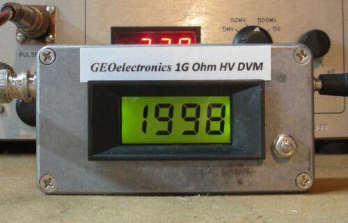 Business & Industrial V2 1GigaOhm HIGH VOLTAGE DIGITAL READOUT 1 ...