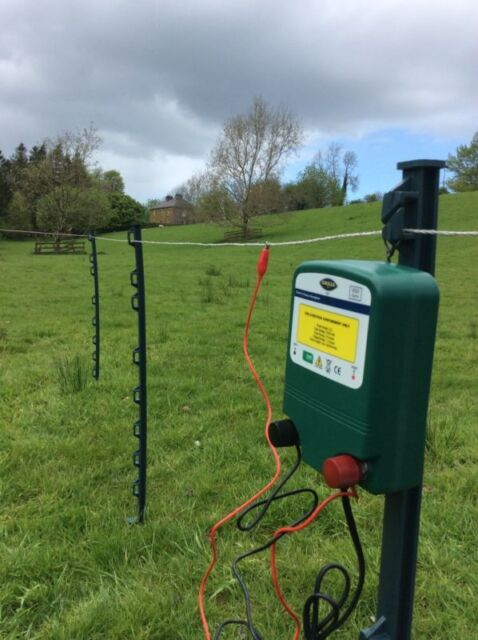 Electric Fence Energiser 12v 0.6J 2 years Warranty For Sheep Horses Cows Ect