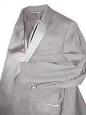 BNWOT $2,995 DOLCE & GABBANA D&G Wool & Silk Black Tuxedo Suit size US 44 EU 54