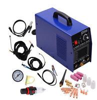 3 In 1 Plasma Cutter Tig Mma Welder Cutting Welding Machine Ct-312 Ct312 Blue