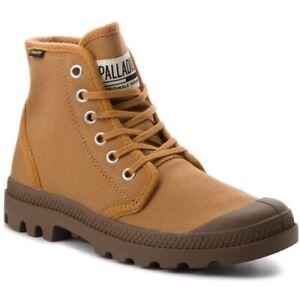 Palladium Mens Pampa Hi Leather Boots Brown