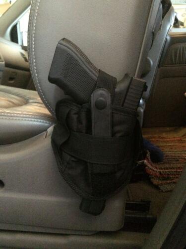 Car Seat Pistol Gun Holster Vehicle Truck Carry Ambidextrous Small Medium Large