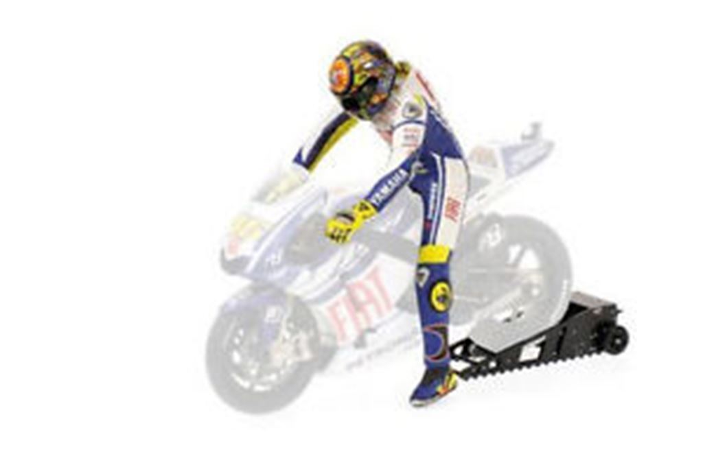 Minichamps 312 090046 FIGURINA & BIKE STARTBOX V ROSSI MOTOGP 2009 1 12 TH scala