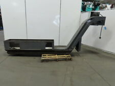 152 Incline Magnetic Chip Conveyor 11 Belt 48 Discharge 35fpm 208 230480v