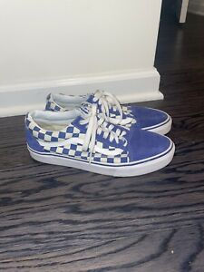 Vans Old Skool Checkered Low Royal Blue