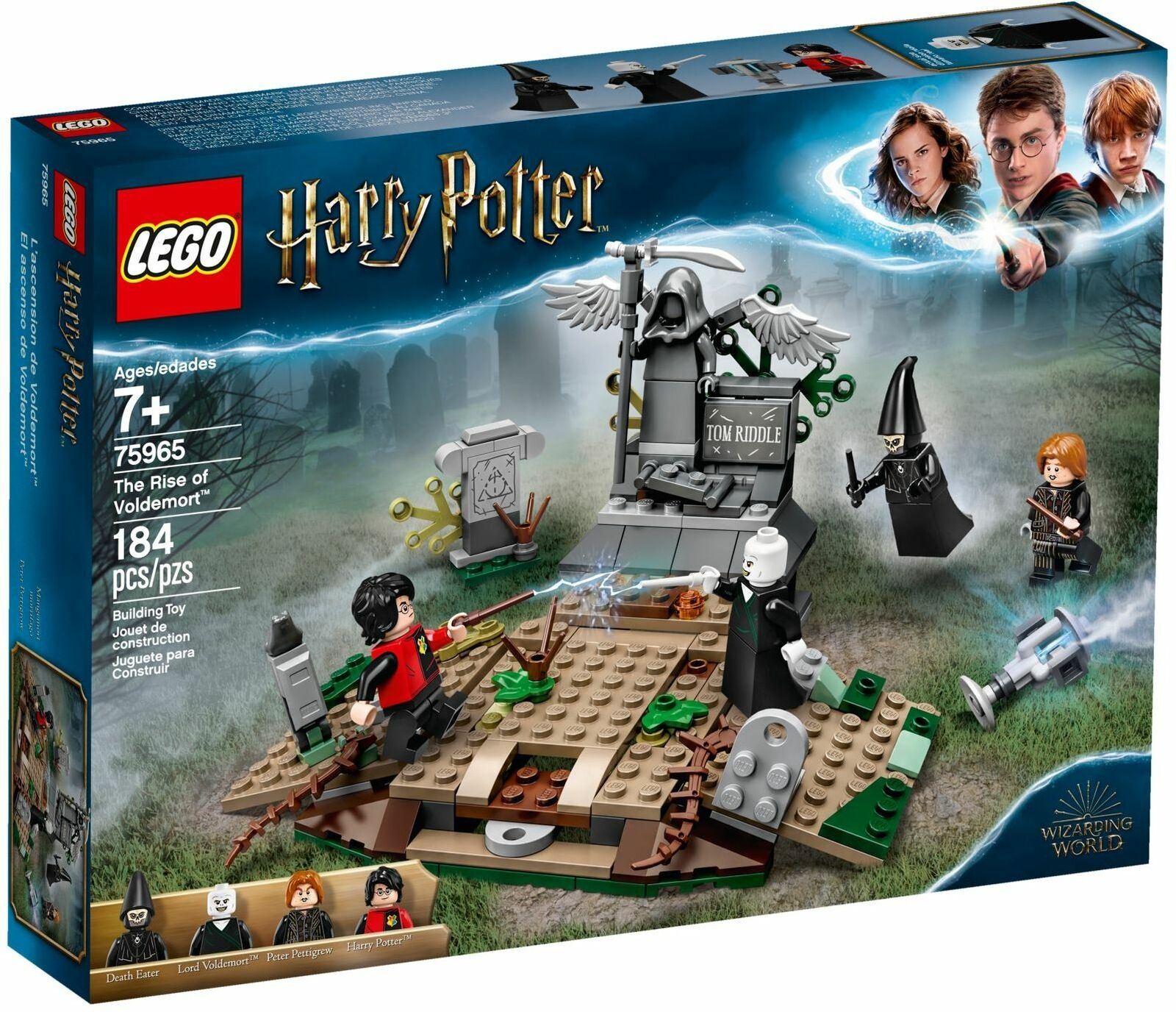LEGO Harry Potter 75965 The Rise of Voldemort Libre  SHIPPING  vente au rabais