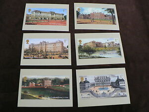Buckingham Palace, 6 PHQ Stamp Cards 2014, FDI Special H/S Back