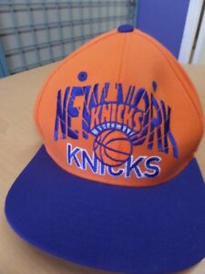 3e2c4d4eddd Vintage NBA New York Knicks Adidas Baseball Cap Hat Adjustable ...