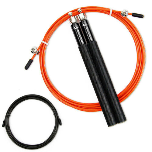 5Billion Speed Jump Rope Adjustable Cable Aluminum Handle Steel Cable Boxing