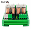 GEYA-4-Channel-Omron-Relay-Module-2NO2NC-DPDT-PLC-RELAY-Interface-12-24V-AC-DC miniature 3