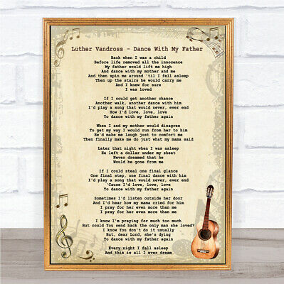 Nights In White Satin Man Lady Dancing Song Lyric Quote Print