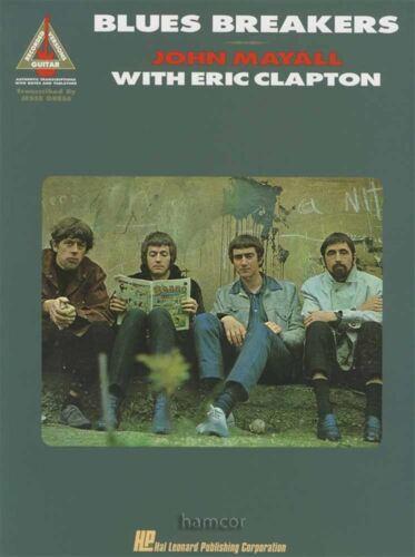 John Mayall Blues Breakers Eric Clapton Guitar Recorded Versions TAB Music Book