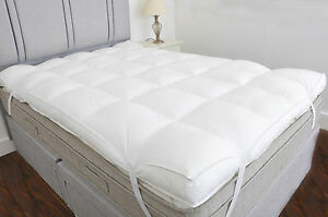Hotel Quality 10cm 4 Inch Thick Mattress Topper Reviver