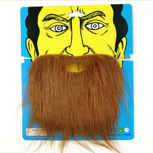 2 Color Moustache Circus Carnival Fancy Dress Halloween Costume Accessory Party