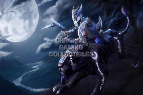 DOTA28 RGC Huge Poster Dota 2 Luna Character Art PC