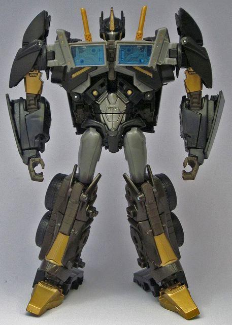 Transformers Prime DARK GUARD OPTIMUS PRIME CYBERTRON SATELLITE EXCLUSIVE MISB