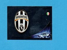 PANINI-CHAMPIONS 2012-2013-Figurina n.336- SCUDETTO/BADGE -JUVENTUS-NEW BLACK