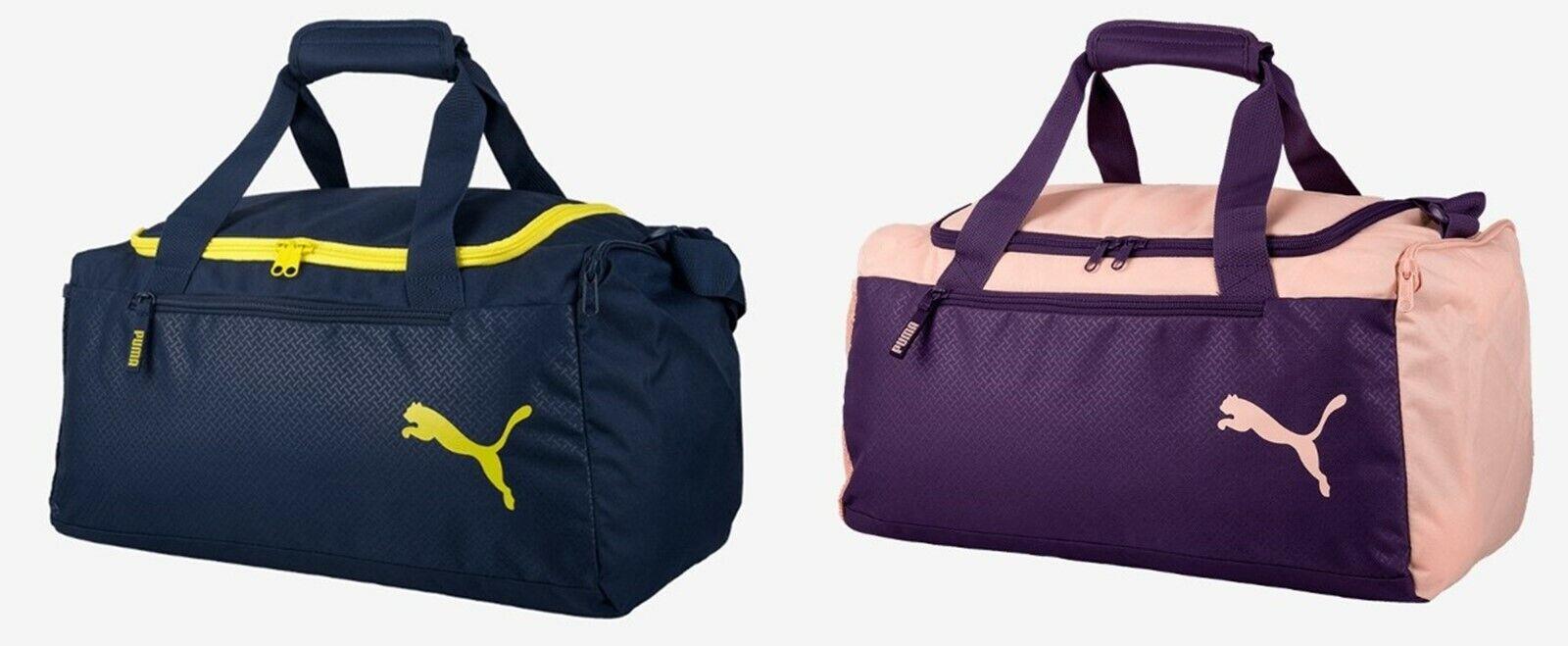 4bb9ca7d1 Puma Fundamental Small Training Duffel Bags Running Navy GYM Bag Sacks  07552706 | eBay