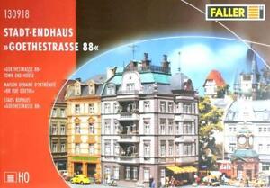 FALLER 130918 piste h0 ville-endhaus Goethe route 88