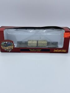 HO-Scale-Ertl-Railway-Designs-Milled-Lumber-Boxcar-Train-Load-NOS