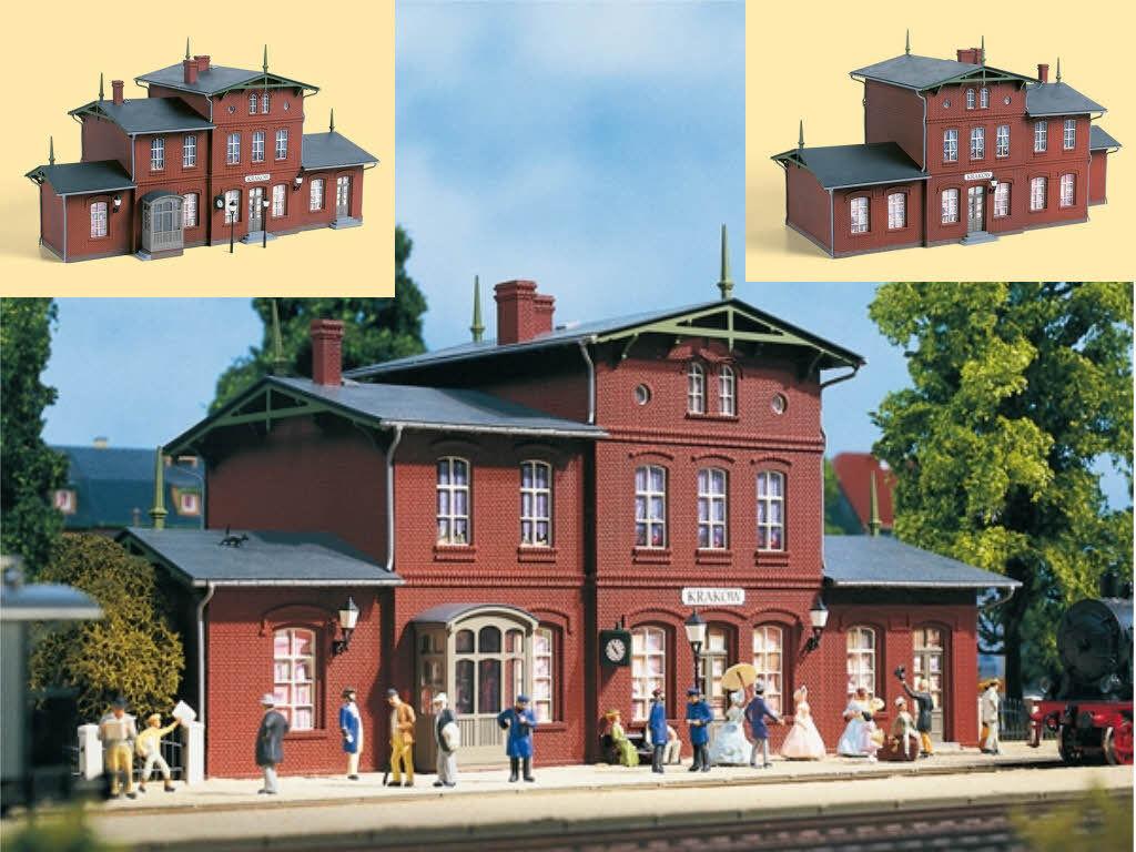 Auhagen 11381 la estación krakow época I-III kit h0 nuevo