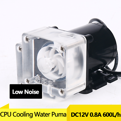 NEW DC 12V 10W Low Noise CPU Cooling Water Pump for Desktop Computer Cool System