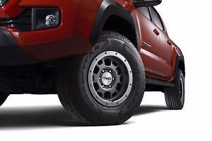 "Toyota Tacoma 4x4 & PreRunner 1995 - 2020 TRD 16"" Grey Bead Lock Rims - OEM NEW!"
