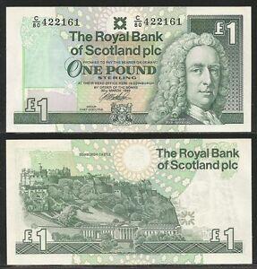 SCOZIA-SCOTLAND-1-Pound-1999-UNC-Pick-351d