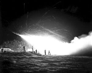 New-8x10-Korean-War-Conflict-Photo-First-Rocket-Battery-11th-Marine-Regiment