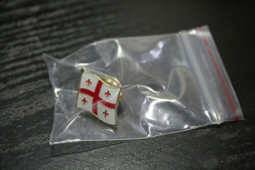 GEORGIA Georgian Country Metal Flag Lapel Pin Badge *NEW*