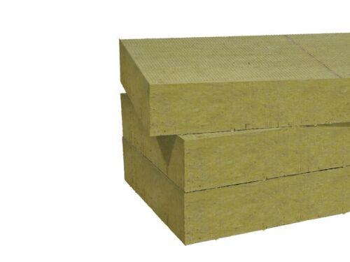 Rockwool 100mm Steinwolle Putzträgerplatte VWS Fassadendämmplatte WDVS