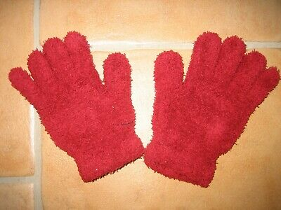 Begeistert Handschuhe Fingerhandschuhe Rot Top* 100% Original