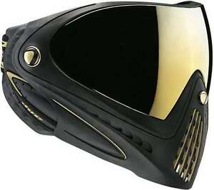 New-Dye-Matrix-I4-Paintball-Mask-Goggles-Black-amp-Gold-Limited-Edition