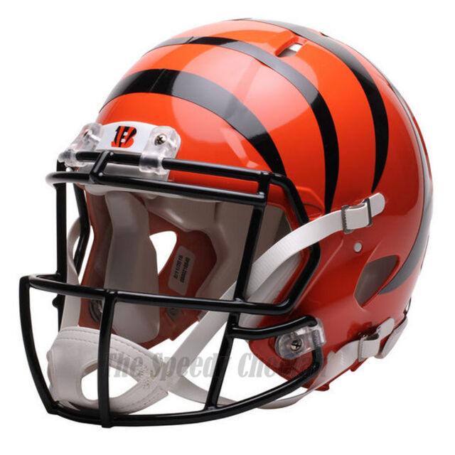 9bf619ad4 CINCINNATI BENGALS RIDDELL NFL FULL SIZE AUTHENTIC SPEED FOOTBALL HELMET