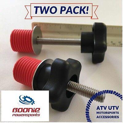 2 Polaris Lock /& Ride Lock and Ride Type Knob Anchor Sportsman RZR ACE ATV/'s
