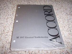 1997 Honda Accord Electrical Wiring Diagram Manual Sedan ...