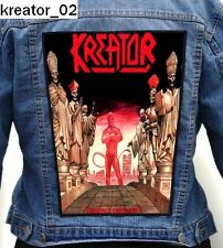 KREATOR BIG PATCH different patterns DESTRUCTION SODOM TANKARD MORGOTH ACCEPT