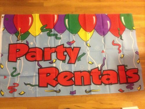 Party Rentals Flag Business flag Banner Free Ship sign Business Message new