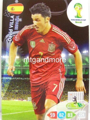 Adrenalyn XL-david villa-españa-FIFA World Cup Brazil 2014 WM