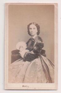 Vintage-CDV-Josephine-Shaw-Hoey-English-Actress-Fredrick-039-s-Photo