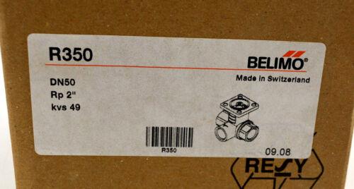"""2/"""" Belimo 3 caminos válvula r350 embalaje original probablemente nuevo"""