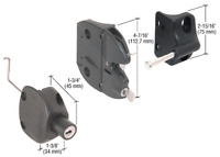 Crl Black Lokk-latch series 2 For Round Post